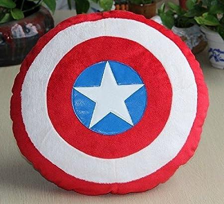 Amazon.com: Capitán América peluche almohada cojín Juguete ...