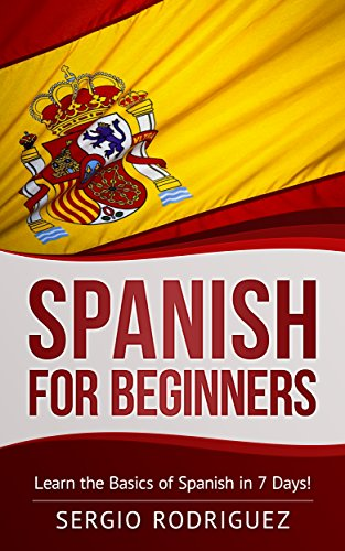 "Do You Want To Learn Spanish in a Easy and Affordable Way?  Welcome to this training for the Kindle edition of the book ""Spanish for Beginners"". Spanish is the most widely spoken Romance language, with more than 400 million native speakers all over ..."