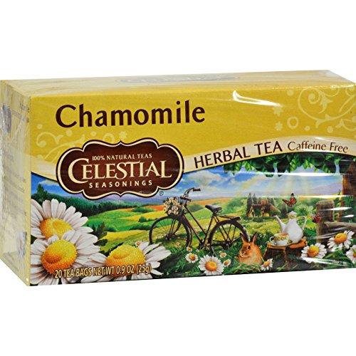 - Celestial Seasonings Natural Herbal Tea, Chamomile 20 ea