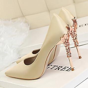 mejor coleccion 60% de descuento ventas especiales XiaoGao Nuevos zapatos de mujer con 10 centímetros de super ...