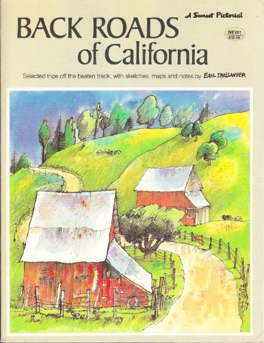 Back Roads of California (A Sunset pictorial) for sale  Delivered anywhere in USA