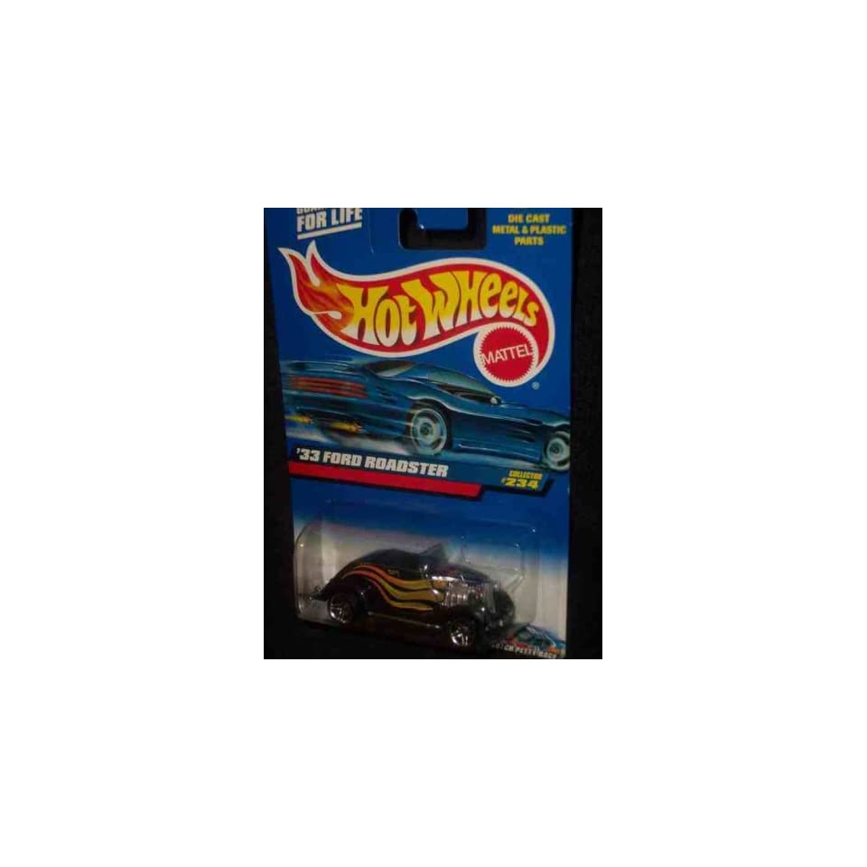 #2000 234 1933 Ford Roadster Pr 5 2000 card Collectible Collector Car Mattel Hot Wheels 164 Scale