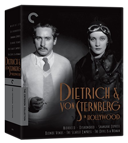 Dietrich and von Sternberg in Hollywood Morocco, Dishonored, Shanghai Express, Blonde Venus, The Scarlet Empress,...
