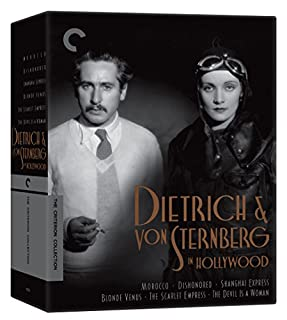 Dietrich and von Sternberg in Hollywood [Blu-ray] [Morocco, Dishonored, Shanghai Express, Blonde Venus, The Scarlet Empress, The Devil Is a Woman] (B07C7J9VD2)   Amazon price tracker / tracking, Amazon price history charts, Amazon price watches, Amazon price drop alerts