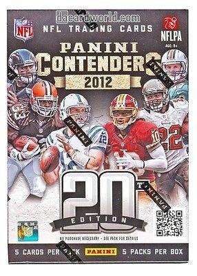 Sports Memorabilia 2012 Panini Contenders Football