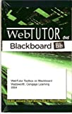 WebTutor(TM) ToolBox on Blackboard Printed Access Card, Cengage Learning, 0534274897