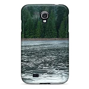 Zheng caseSeries Skin Case Cover For Galaxy S4(frozen Lake Riley)