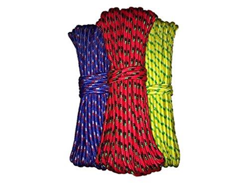 Diamond Braid Utility Rope - 100 ft x 3/8