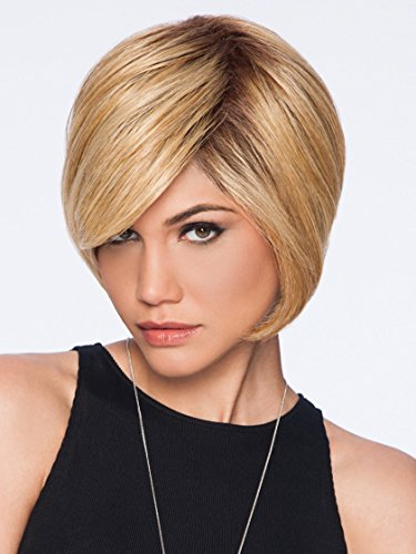 - Hairdo  Layered Bob Cut True2Life Styleable Synthetic Wig  SS1488 Golden Wheat