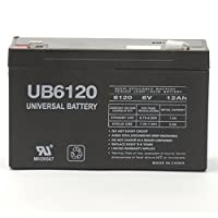 The BEST UPG Ub6120f2 Sla 6v 12ah .250 by UPG