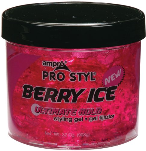 Ampro Styling Gel - Berry Ice 32 oz.