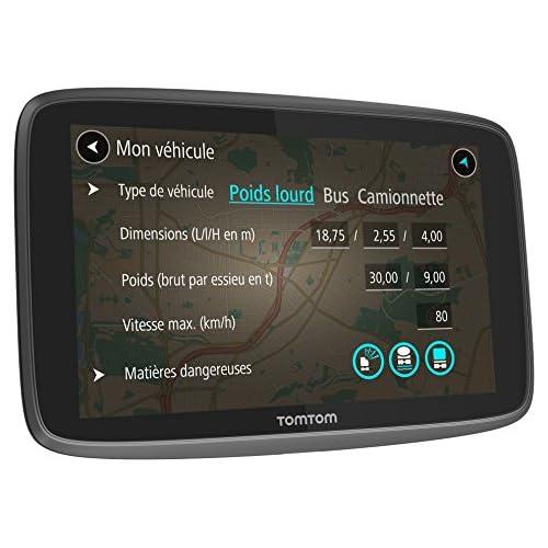 80%OFF TomTom - GPS Poids Lourds – GO PROFESSIONAL 6200 (6 pouces) - Cartographie Europe 48 à vie (1PL6.002.11)