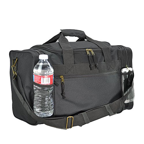 dalix-17-duffle-travel-bag-with-water-bottle-mesh-pockets-in-black