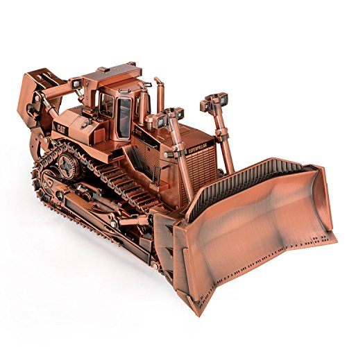1 50 Scale Caterpillar D11t Track Type Copper Plated Finish Diecast Tractor By The Hamilton Collection