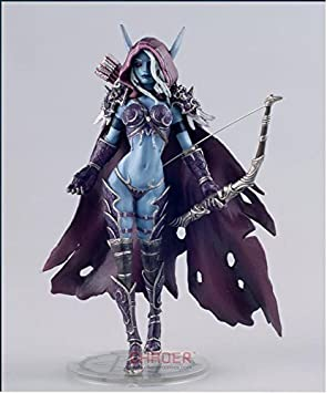 World of Warcraft: Wrath of the Lich King Lady Sylvanas Windrunner Action Figure by Chaoer