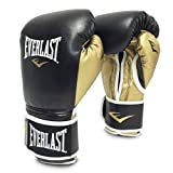 Everlast PowerLock Training Glove blk/Gld PowerLock Training Gove, Black/Gold, 16 oz