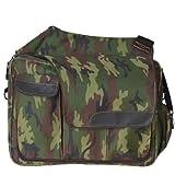 Diaper Dude - Messenger II Diaper Bag, Camouflage