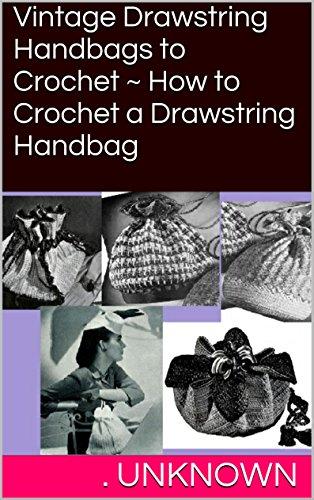 How To Crochet Drawstring Bags - 5