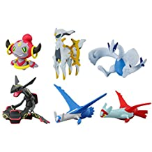 Takaratomy Pokemon X & Y the Movie: Hoopa & the Clash of Ages Special 6PC Figure Set - Lugia, Hoopa, Latias, Latios, Rayquaza & Arceus
