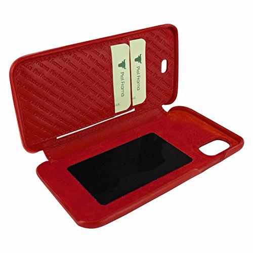 Piel Frama U794R Case ''Emporium'' for iPhone X - Red by Piel Frama (Image #3)