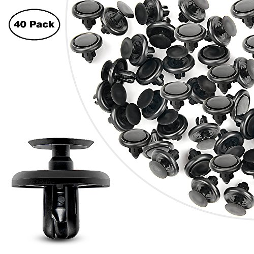 GOOACC Engine Under Cover Push-Type Retainer Lexus & Toyota Clips 90467-07201 OEM Replacement Fasteners - 40PCS - Oem Trunk Kit Body
