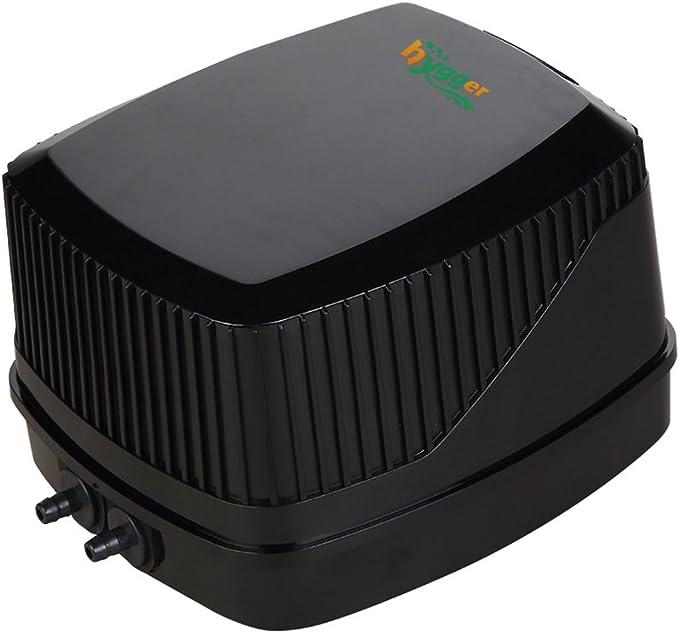Bigpea Usb Aeration Pump Air Pump Aquarium Aerator Ultra Quiet Fish Tank Go Fishing Oxygen Pump /—/—Black