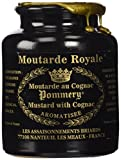 Royal Mustard Pommery Mustard with Cognac in Pottery Crock, 8.8 oz