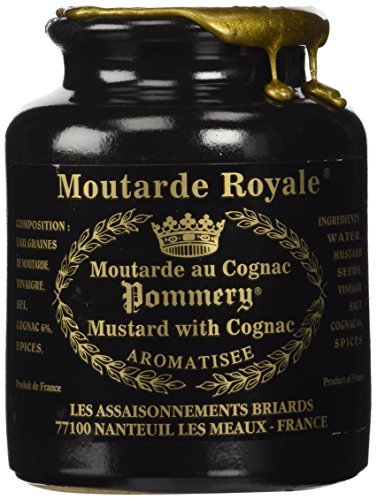 Price comparison product image Royal Mustard Pommery Mustard with Cognac in Pottery Crock,  8.8 oz