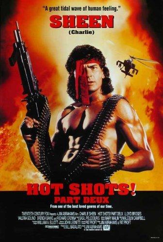 Hot Shots Part Deux POSTER Movie (27 x 40 Inches - 69cm x 102cm) (1993) (Charlie Sheen-stil)