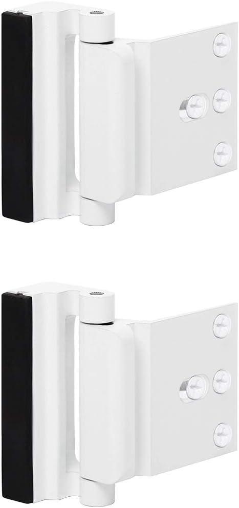 Screws BRFDIU 1PC New Door Chain Lock Safety Guard Security Lock Cabinet Locks