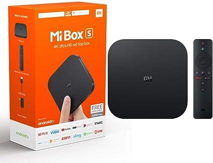 Xiaomi Mi TV Box S Android con Google Asistente Remoto Streaming Media Player: Amazon.es: Electrónica