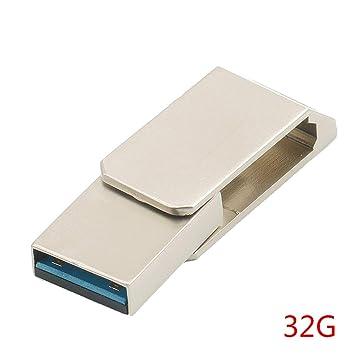Morelyfish USB 3.0 a USB Tipo C Adaptador Giratorio de ...