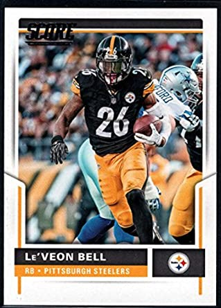 Amazon.com: 2017 Score #116 Le'Veon Bell Pittsburgh Steelers ...