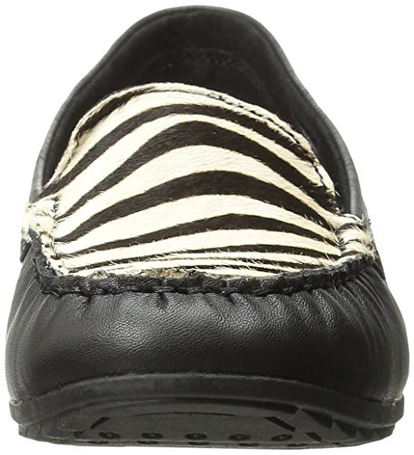 Skechers Kvinna Rom Slip-on Loafer Svart / Zebra