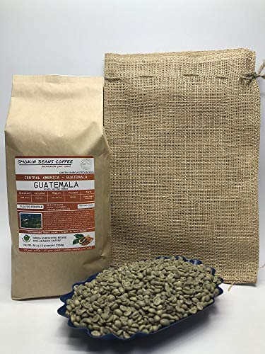 5 Pounds – Central American – Guatemala – Unroasted Arabica Green Coffee Beans – Grown in San Marcos Region – Altitude…