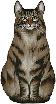 DOOR STOPPER MAINE COON CAT DOOR STOP CAT DOORSTOP