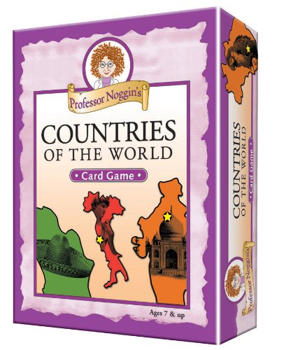 - Professor Noggin's Countries of the World - A Educational Trivia Based Card Game For Kids