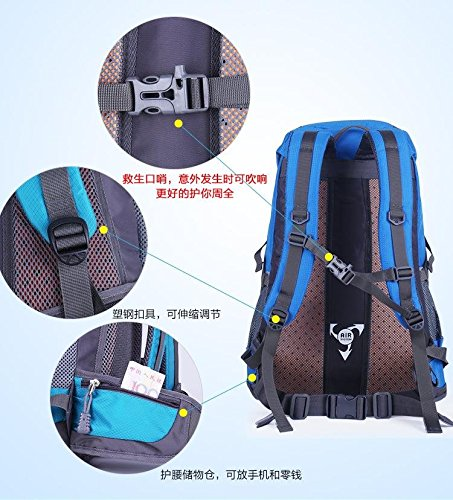 Laptop Rucksack Computer Bag Travel Rucksack Wandern Tasche für Herren Rot rot blau NVhMcP8qS