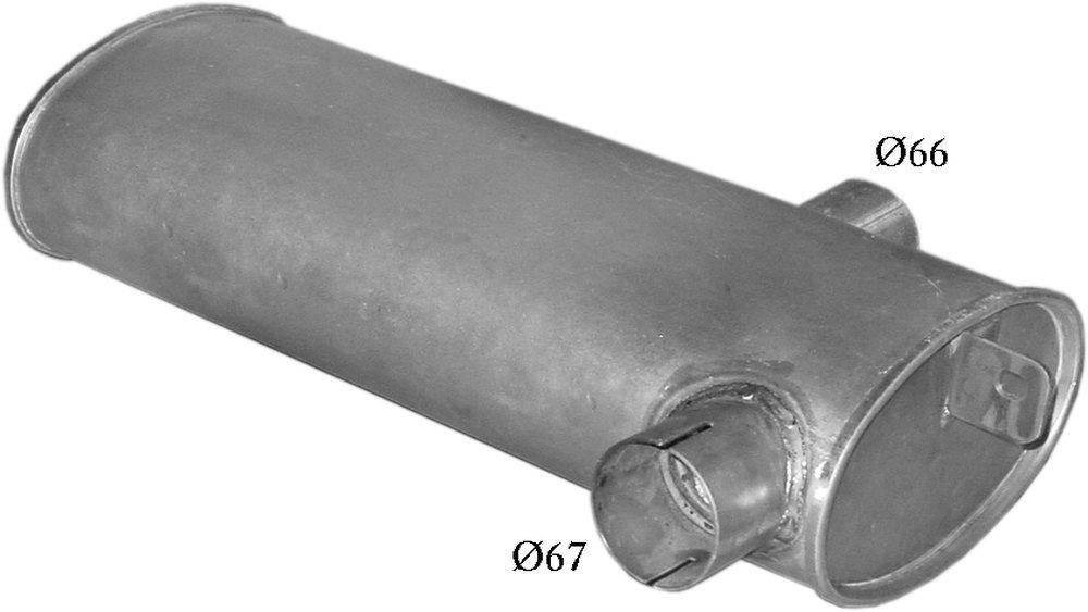 POLMO Z961469 Auspuff mit Zement