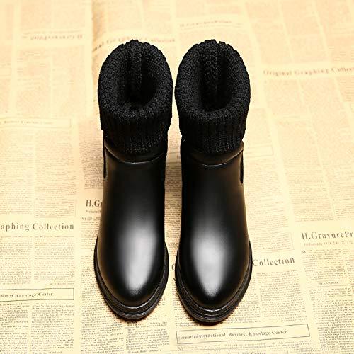 BYUYAN Stiefel Die Wilde Baumwolle Schuhe Frauen Schuhe Winter Plus Baumwolle Stiefel Winter Schnee Stiefel