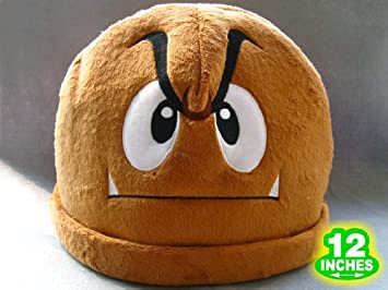 60b5942e4c4 Image Unavailable. Image not available for. Colour  Nintendo Super Mario  Bros. GOOMBA Hat