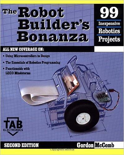 Robot builders bonanza tab electronics gordon mccomb robot builders bonanza tab electronics 2nd edition fandeluxe Images