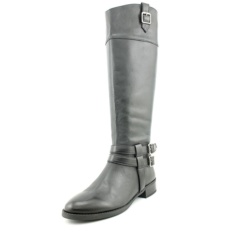 be72e176e60 INC International Concepts Womens Fahnee Almond Toe Leather Riding Boots