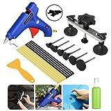 FLY5D 11Pcs Car Body Dent Repair Tool Paintless Removal Gun Puller Bridge Glue Sticks