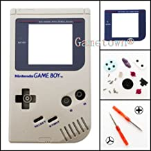 Gametown® Full Housing Shell Cover Case Pack with Screwdriver for Nintendo Gameboy Classic/Original GB DMG-01 Repair Part-Gray