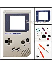 New Full Housing Shell Cover Case Pack with Screwdriver for Gameboy Classic/Original GB DMG-01 Repair Part-Gray