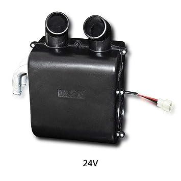 Clevoers - Kit de Calentador de Agua para Coche, 12/24 V, Calentador