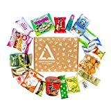 Classic Asian Snack Box   College Care Package   Japanese Candy   Korean Snacks   Chinese Snacks   Travel Snacks and Junk Food (Classic Asian Snack Box, 20 Count)