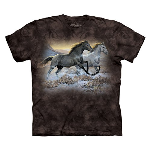 - The Mountain Men's Running Free T-Shirt, Black, L