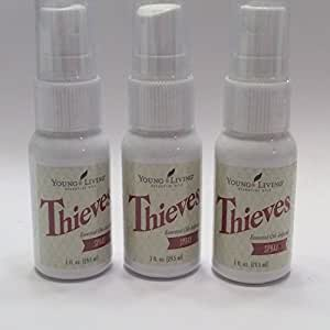 Thieves Spray by Young Living - 3 pack, 1 fl. oz. each